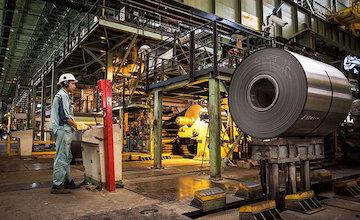 عدم تاثیر ویروس کرونا بر صنعت فولاد آمریکا