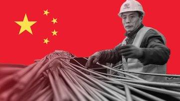 افزایش 12.7 درصدی تولید فولاد در چین