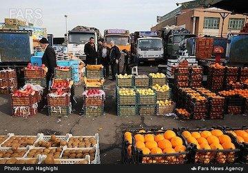 سیر نزولی قیمت میوهها با افزایش دما