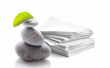 لزوم توسعه صنعت تولید کاغذ از سنگ