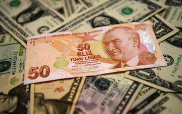 لیر ترکیه به کمترین نرخ خود در شش ماه گذشته رسید