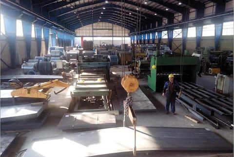 آهن و فولاد نور - کارگاه بشل