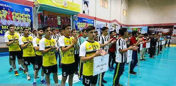 سومی پسران سپاهانی در مسابقات هندبال کشور
