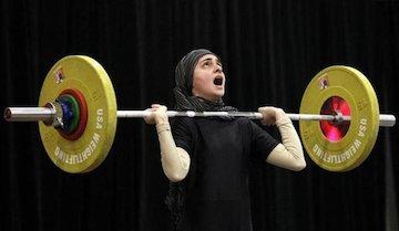 افتتاح مسابقات وزنهبرداری بانوان کشور 25 تیرماه