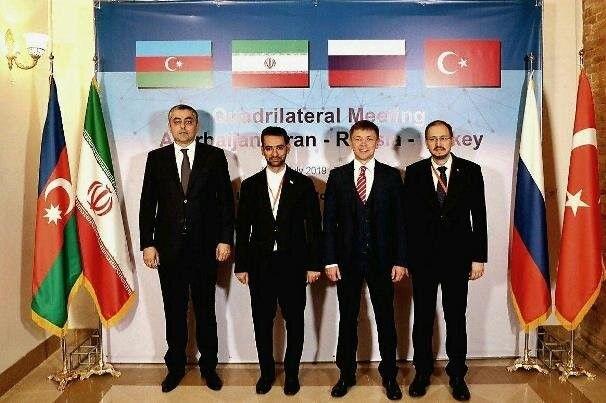 اجلاس چهارجانبه وزرای ارتباطات ۴ کشور برگزار شد