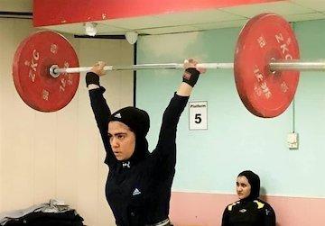 پایان مسابقات وزنه برداری بانوان کشور در اصفهان
