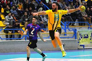 دور برگشت لیگ برتر هندبال آقایان در شیراز