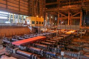 ضخیم ترین تختال کشور در فولاد مبارکه تولید شد