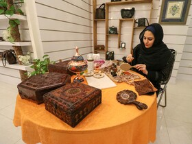 افتتاح اولین هایپرصنایع دستی و هنرهای سنتی کشوردر اصفهان  عکس:مجتبی جهان بخش