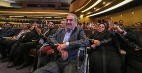 افتتاحیه دهمین جشنواره فیلم فجر اصفهان بهمن 98  عکس:مجتبی جهان بخش