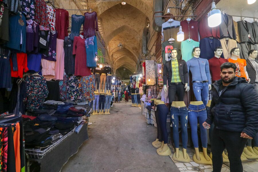 کسادی بازار شب عید تحت تاثیر ویروس کرونا