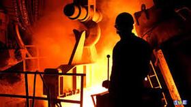 کاهش 6 درصدی تولید فولاد در جهان