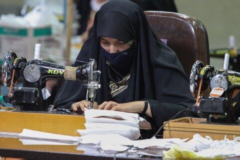 تولیدو توزیع ماسک انجمن جوانان اصفهان