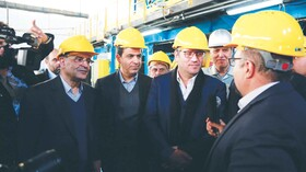 فولاد مبارکه در مسیر رونق تولید و افزایش صادرات گام های موثری برداشته است