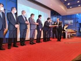 تندیس زرین جایزه ملی تعالی سازمانی به فولاد مبارکه رسید