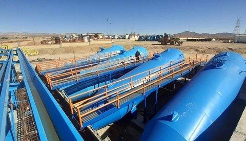 نخستین پمپ خط انتقال آب از خلیج فارس با تلاش متخصصان داخلی آغاز به کار کرد
