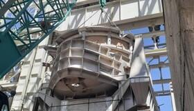 نصب کوره 140 تنی فولادسازی مجتمع قائنات