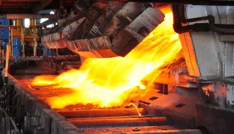 رشد ۱۱درصدی تولید آهن اسفنجی و ۸درصدی تولید فولاد خام شرکت های بزرگ