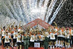 تیم مس رفسنجان جام قهرمانی را بالای سر برد و به لیگ برتر راه یافت