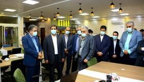 بازدید رئیس هیات عامل ایمیدرو و مدیرعامل شرکت مس از مرکز نوآوری معادن و صنایع معدنی ایران