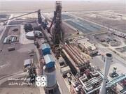 ثبت رکورد ماهانه تولید محصول در واحد احیا مستقیم فولاد سفیددشت