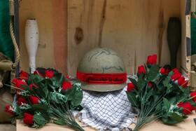 نمایشگاه بزرگداشت هفتۀ دفاع مقدس در فولاد مبارکه برگزار شد