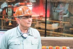 ثبت رکورد تولید در فولاد هرمزگان