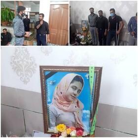 رکابزن سپاهانی مدال طلای خود را به خانواده مرحومه جعفری تقدیم کرد