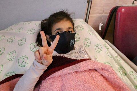 جشنواره کودک در بیمارستان کودکان امام حسین(ع)