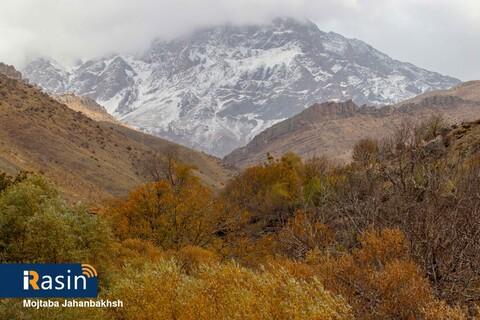 پاییز هزار رنگ روستای پشتکوه فریدونشهر