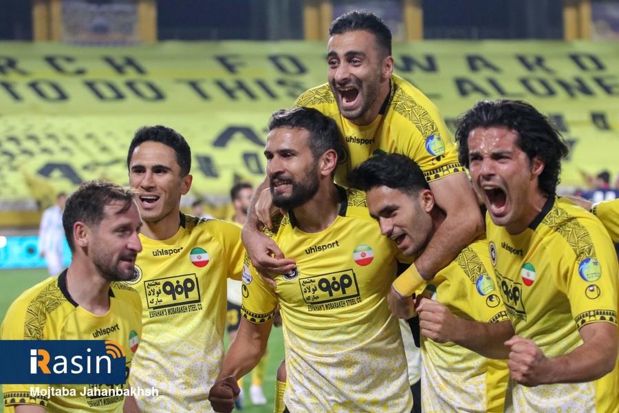 برتری یک برصفر تیم سپاهان مقابل تیم الومینیوم