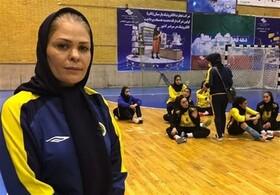 پیروزی دختران هندبال طلایی پوش مقابل پرسپولیس