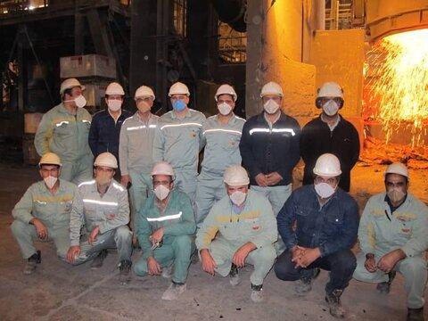 همکاران پروژه کوره نسوز پاتیل سبا