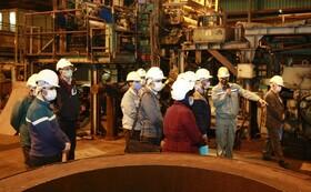 تور بازدید شرکت های دانش بنیان از شرکت فولاد مبارکه انجام شد
