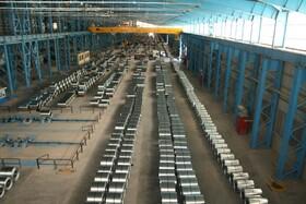 تولید بیش از ۸۰۰ تن ورق گالوانیزه در یک شیفت کاری