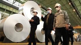 بازدید رئیس مؤسسۀ فرهنگی بینالمللی اکو از شرکت فولاد مبارکه