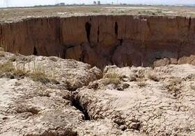 خطر فرونشست زمین در مسیر خط آهن تهران-بندرعباس جدی است