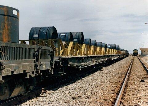 حمل حمل محصولات فولادی حمل کلاف حمل بار صادرات