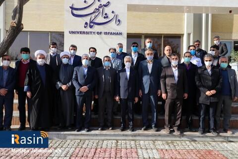 افتتاح چند پروژه با حضور وزیر علوم در اصفهان