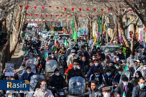 مراسم راهپیمایی 22بهمن 1399اصفهان