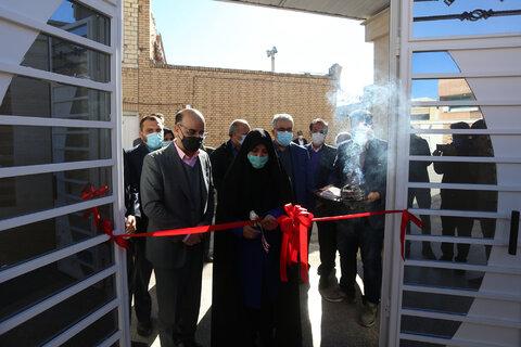 افتتاح ساختمان بازسازی شده خیریه امیرالمومنین مبارکه