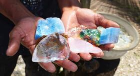 سنگهای نیمه قیمتی فرصتی طلایی در اختیار صنعت معدن
