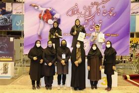 نایب قهرمانی دختران اصفهان در کشور