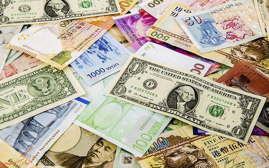 کاهش قیمت دلار و سایر ارزهای رسمی امروز یکشنبه ۲۶ اردیبهشت ۱۴۰۰