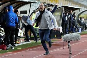 راه یابی تیم فوتبال سپاهان به مرحله یک هشتم نهایی جام حذفی فوتبال ایران  عکس:مجتبی جهان بخش