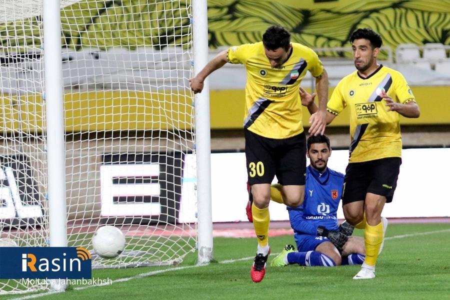 راه یابی تیم فوتبال سپاهان به مرحله یک هشتم نهایی جام حذفی ایران