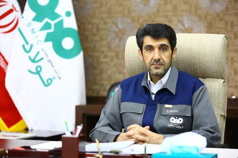 علی امرایی مدیرعامل فولاد سنگان