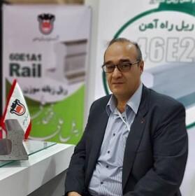 تولید ریل سوزن در ذوب آهن اصفهان از خروج ارز جلوگیری کرد