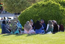 نحوه رعایت پروتکل های بهداشتی در روز قرمز اصفهان  عکس:مجتبی جهان بخش