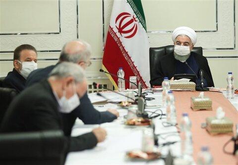 روحانی در جلسه کمیتههای تخصصی ستاد مقابله با کرونا